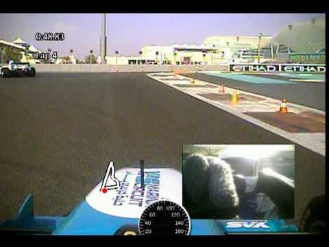 F3000 Driving Experience at Yas Marina Circuit, Abu Dhabi. Watch me spin on lap 7!!