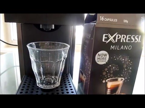 ALDI Expressi Coffee Machine - New Slim Design - Unboxing and Test