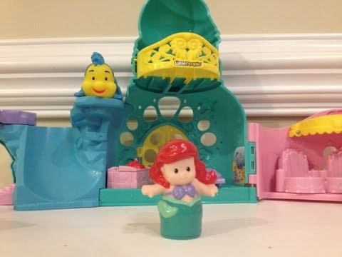 ARIEL Little Mermaid Fisher Price Castle Playset Unboxing