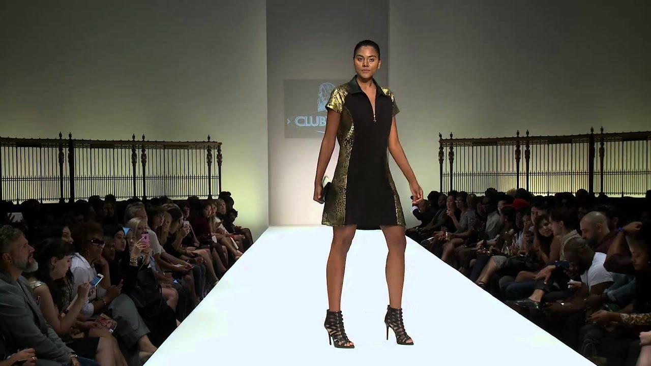 Clubwear Ss16 Runway Fashion How During Style Fashion Week Ny Gotham Hall Youtube