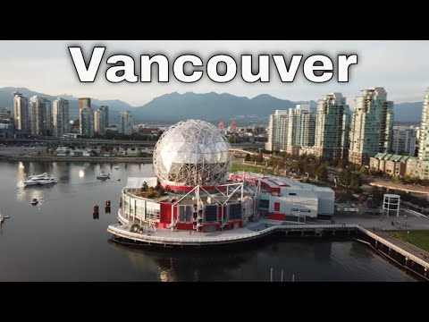 Drone Vancouver, British Columbia, Canada