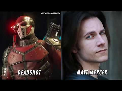 Injustice 2 Characters And Voice Actors