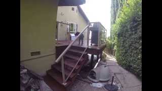Golden Gate Enterprises Sf Bay Area General Contractor Aluminum Glass Railing Stairs Fremont Linda