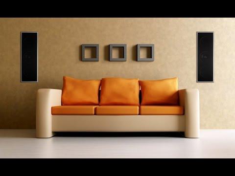 KEF Einbaulautsprecher KEF inwall Lautsprecher KEF Dolby Atmos - YouTube