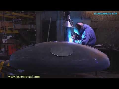 ساخت یک مخزن تحت فشار، از شروع تا پایان (pressure vessel production)