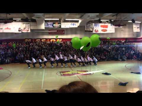Mission viejo high school powderpuff dance 2015