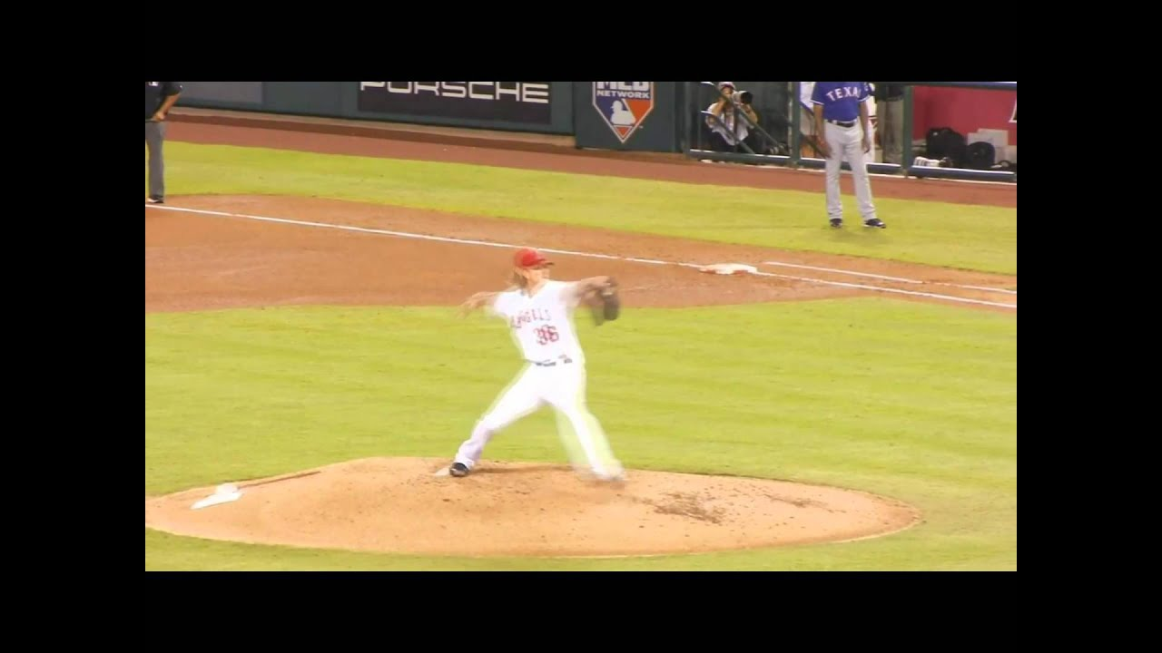 Jered Weaver - Pitching Mechanics - YouTube