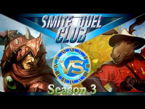 WyrmSlayer Ullr vs Chiron - Duel Club 1v1 - Smite