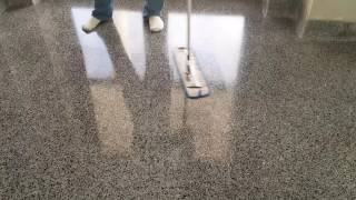 How to Apply a High Gloss Sealer for Terrazzo Flooring