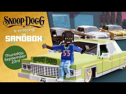 Download Snoop Dogg Enters The Sandbox Metaverse