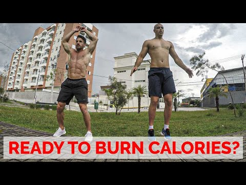 8 Min HIIT Bodyweight Workout without Equipment | Gym Performance