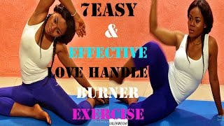 how to get rid of love handles fast | 7 easy exercises to get rid of love handles| lose love handles