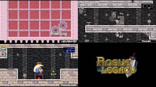 Let's Race Rogue Legacy (feat. Thomal and Scooter) Part 2: The Legacy Has Technical Issues