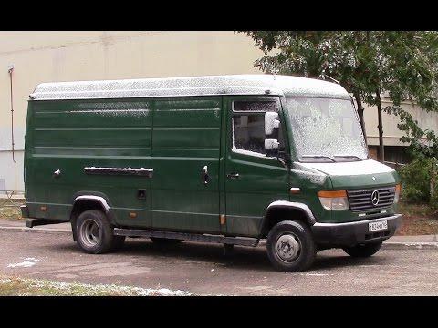 Обзор грузового фургона MERSEDES BENZ VARIO г Тольятти