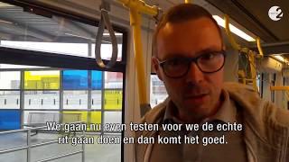 verkeersman Hajo Beeckman wordt tramchauffeur op de Feesten