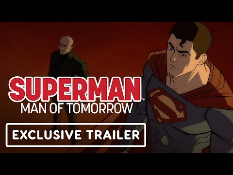 Superman: Man of Tomorrow – Exclusive Official Trailer