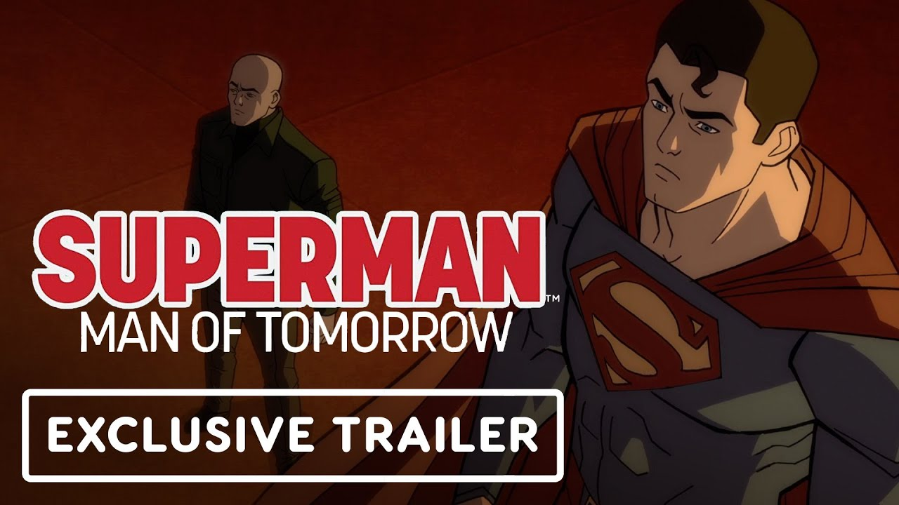 Superman: Man of Tomorrow - Exclusive Official Trailer - YouTube