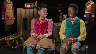 "Coolest kid actors ""Madalen Mills & Edison Latimer"" star in Jingle Jangle: A Christmas Journey"