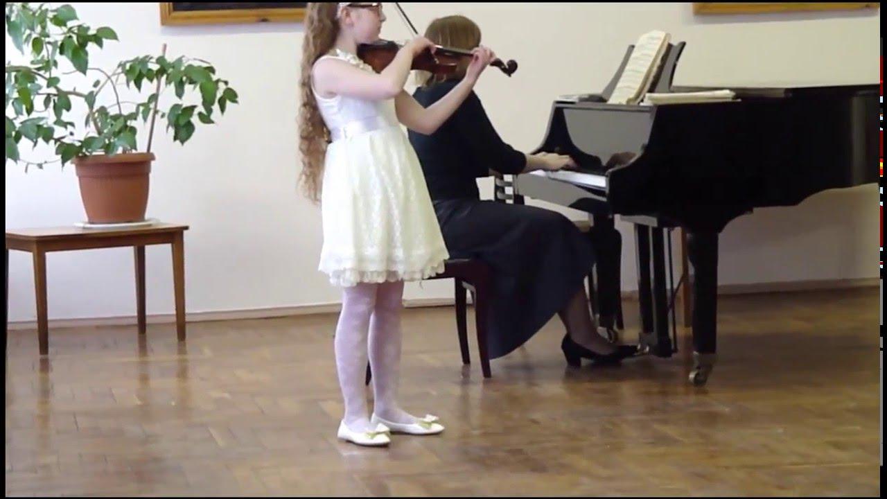 Рубинштейн прялка ноты для скрипки play