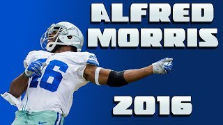 Every Alfred Morris catch/run of the 2016 season