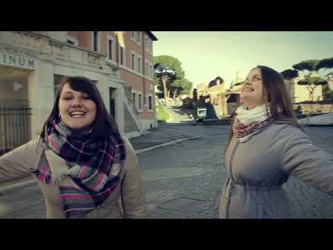 Артель Роса - Бродит по земле любовь (Видеорепортаж из Рима)