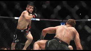 Бой ХАБИБа vs КОНОРа ! Какого хрена Конор !?!