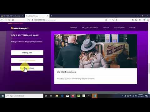 Bagi-bagi Source Code Project Web Company Profile Siap Pakai Gak Pake Ribet