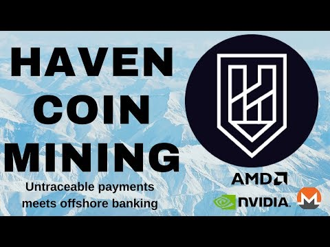 XHV - Haven Coin | Wallet + Mining with GPU - Nvidia + AMD