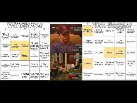 Lorne Therapist Bingo Feat. Winelover