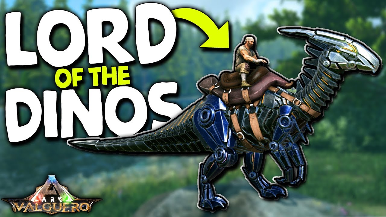 LORD OF THE DINOS in VALGUERO DLC! | ARK: Survival Evolved