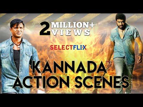 Hindi Dubbed Kannada Action Scenes Latest Hindi Dubbed 2019