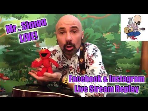 Mr. Simon | Saturday Morning Music  - Live Stream Replay | 4.4.20