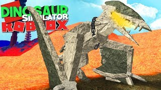 Dinosaur Simulator (Roblox) - Gargoyle Hatzegopteryx, Gargula do Terror (fr) (#125) (Gameplay)