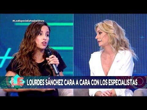 Los especialistas del show - Programa 17/10/18 - Lourdes Sánchez cara a cara con los especialistas