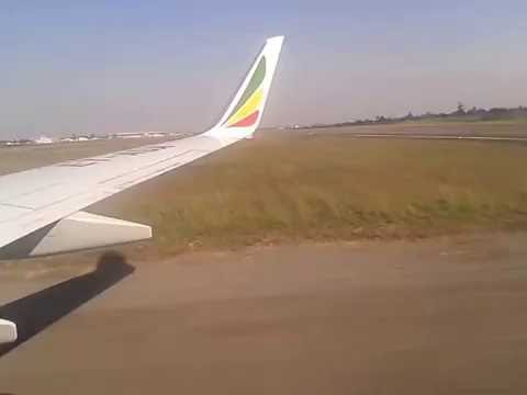 Landing in Maputo, Mozambique