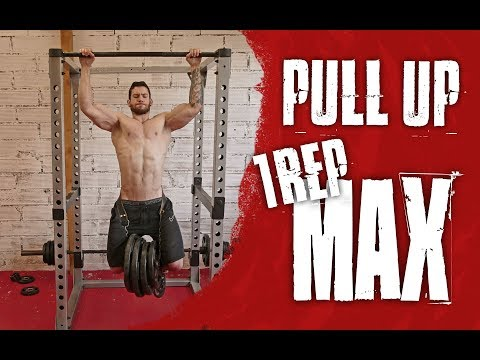 1 REP MAX WEIGHTED PULL UP | TESTING PULL UP STRENGTH