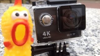 видео Экшн-камера EKEN H6s Silver