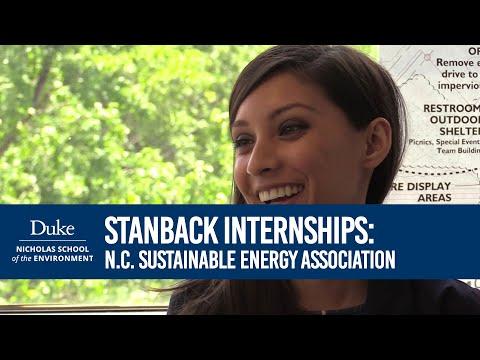 Nicholas School Student Internships: Lina Khan at NCSEA