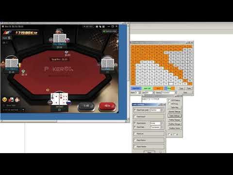 Программа для покера подсказчик  PokerReader. All-in Or Fold GG Network, PokerOK AoF.