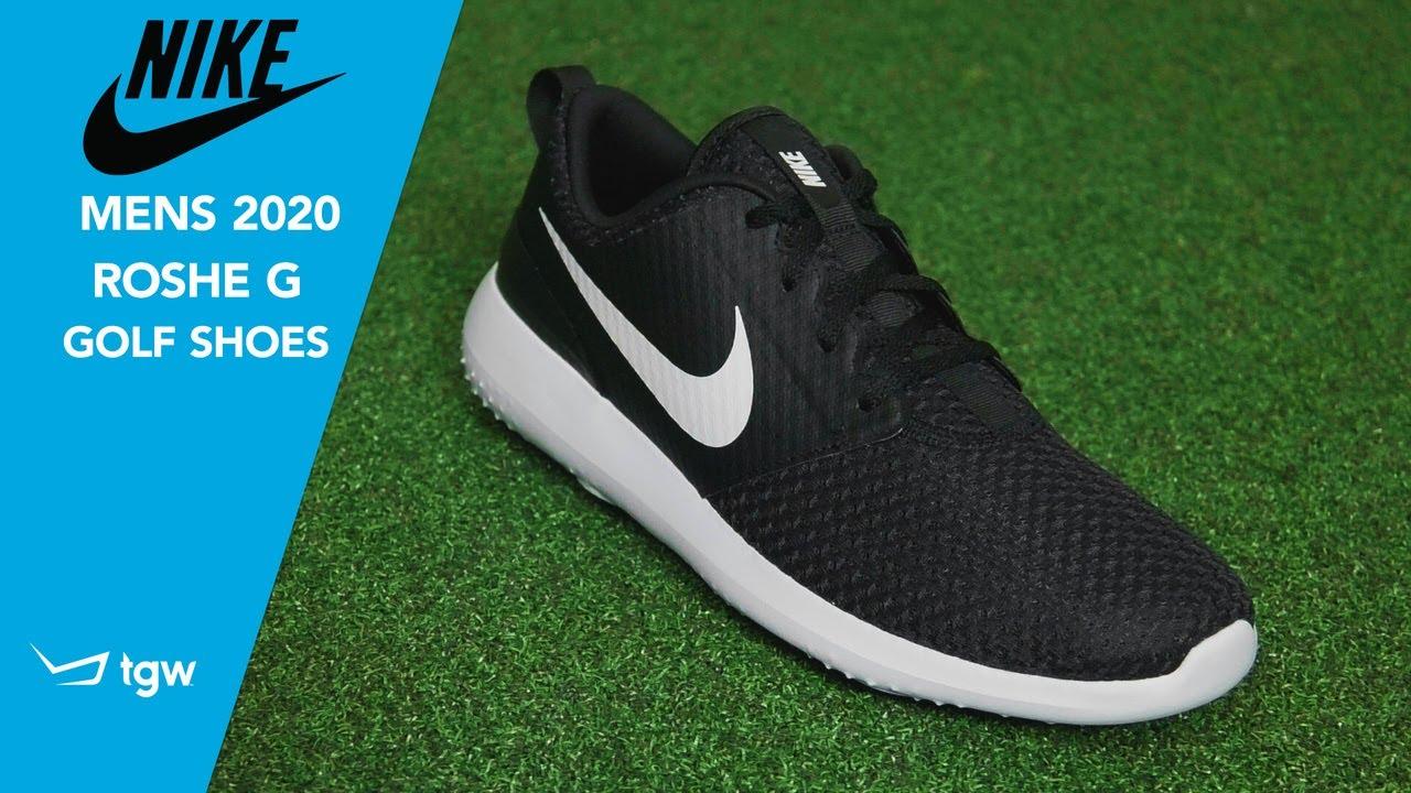 Nike Men S 2020 Roshe G Golf Shoes Youtube