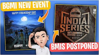 TAG YOUR SQUAD EVENT IN BGMI   BATTLEGROUNDS MOBILE INDIA SERIES POSTPONED