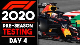 F1 2020 Winter Testing Day 4 Review!!!