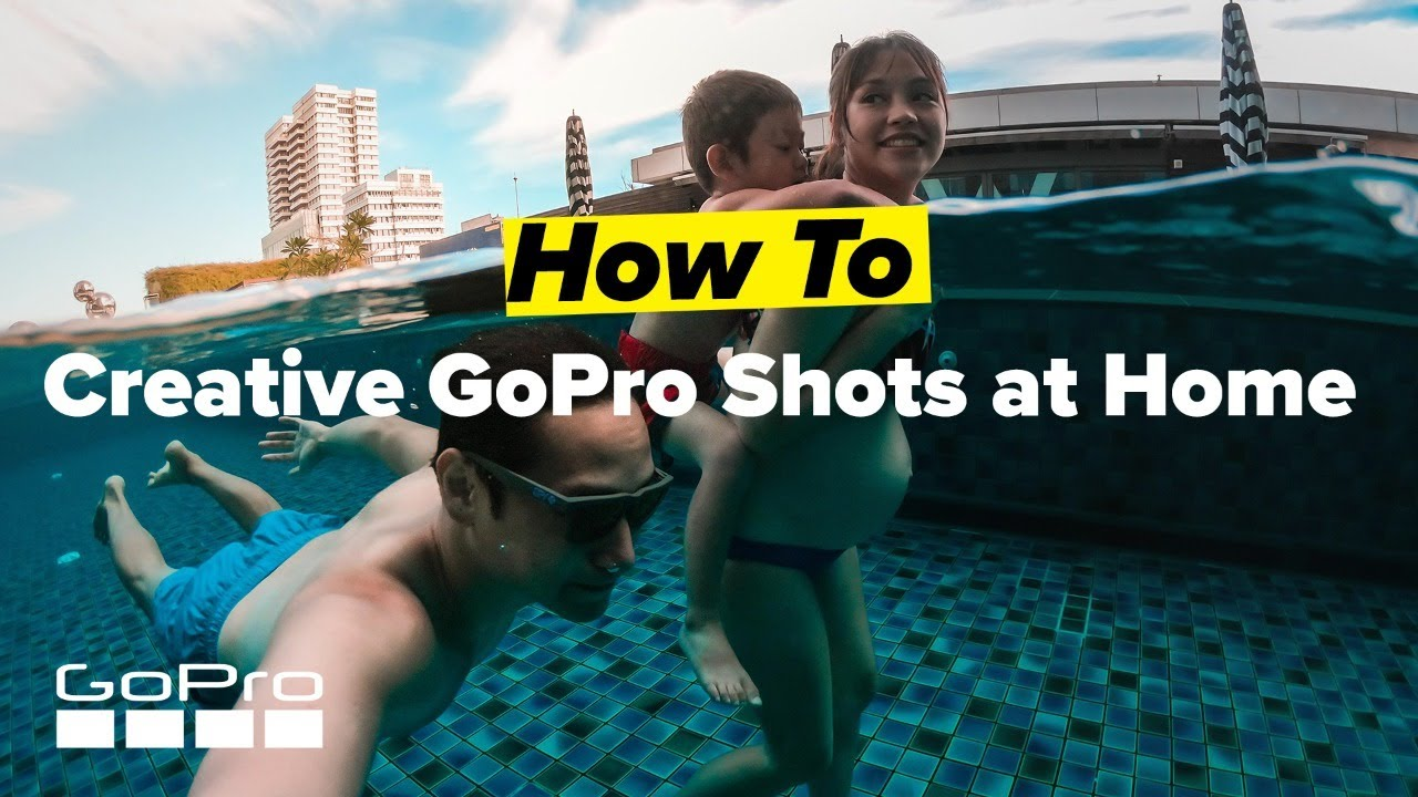 GoPro: Creative Shots at Home featuring Johnny Lo (@jitsslo)