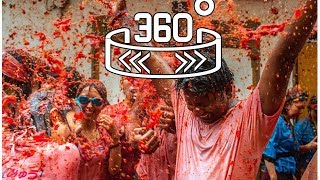 360 WION: La Tomatina- the world's largest food fight!