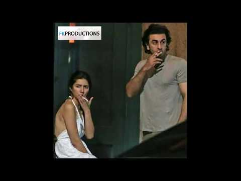 Mahira Khan Smoking with Ranbir Kapoor caught and snapped on the street of New York
