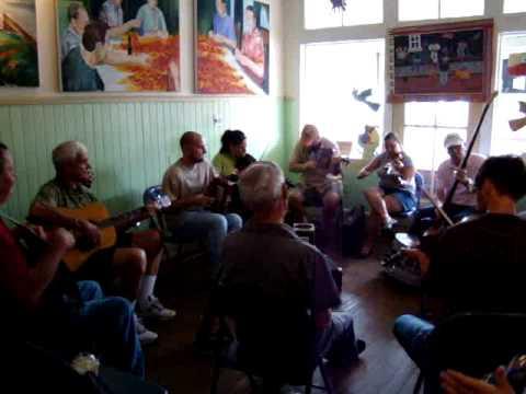 Cajun Music at The Coffee Break, Breaux Bridge, Louisiana
