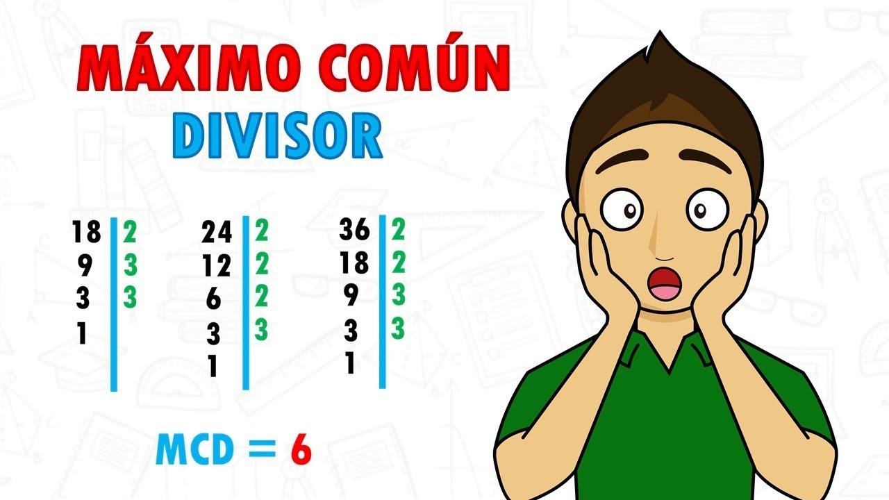 Download MAXIMO COMUN DIVISOR Super Facil - Para principiantes