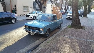 Копейка грузовик.  FIAT 125 Multicarga.  Фиат 125 Пикап.