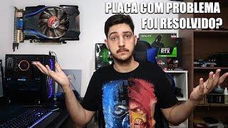 CASO DA GT 420 COM PROBLEMA RESOLVIDO, PRONUNCIAMENTO DA FABRICANTE