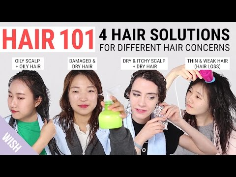 Items Hair Solutions Damaged Hair Greasy Hair Itchy Scalp Hair Loss Cure Wishtrend